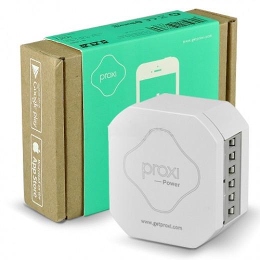 Proxi Power. Реле двухканальное с двухканальным входом управления – для дистанционного включения/выключения электрических розеток, освещения, вентиляторов