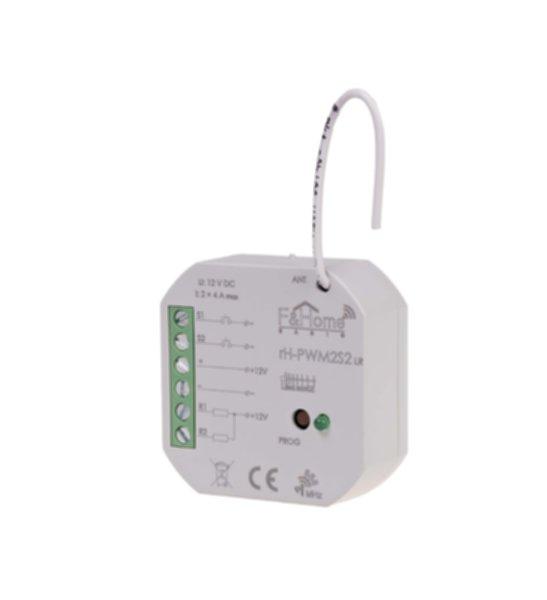 rH-PWM2S2 LR - двухканальный низковольтный ШИМ-контроллер с двумя управляющими входами