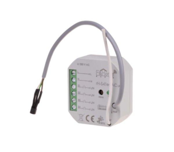 rH-S4Тes AC LR - четырехканальный передатчик с выносным датчиком температуры